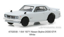 Greenlight Nissan Skyline 2000 Gtr 1971 47020 B 1/64