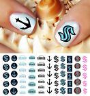 Seattle Kraken Hockey Nail Art Decals - Salon Quality