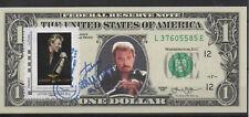 Collector 1 dollar et timbre Johnny Hallyday oblitération spéciale 06.12.2017