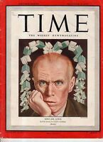 1945 Time October 8 - Sinclair Lewis; Patton's bad press conference;Belsen Camp