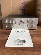 Vintage Kenwood KA-7100 DC Stereo Integrated Amplifier