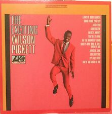 RARE RHINO ATLANTIC REPLICA CARD COVER THE EXCITING WILSON PICKETT 1966 6345789