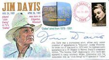 """COVERSCAPE computer designed actor Jim Davis TV Show ""Dallas"" event cover"