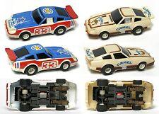 1983-89 TYCO 440-X2 Datsun 280-ZX CAMEL GT & Bob Sharp Budweiser Fast Set Only