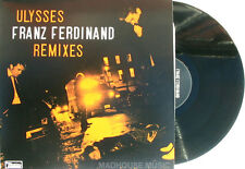 "FRANZ FERDINAND 12"" Ulysses REMIXES 1000 Made + PROMO Info Sheet UNPLAYED New"