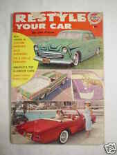 1961 RESTYLE YOUR CAR Potter Custom Hot Rod Low Rider