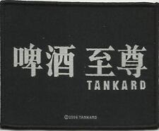 TANKARD japanese logo 2006 - WOVEN SEW ON PATCH official - no longer made