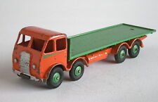 DINKY SUPERTOYS 502 FODEN FLAT TRUCK orange/vert-légèrement ébréché/Sc