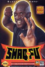 ## SEGA GENESIS - Shaq-Fu - TOP (US Mega Drive Spiel) ##