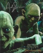 Andy Serkis ++ Autogramm ++ Herr der Ringe ++ Gollum ++ Der Hobbit + Autograph