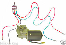 Makermotor Reversible Electric Gear Motor 12v DC 50RPM Gearmotor Reverse Switch