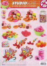 * 3D Bogen Stanzbogen Für Naschkatzen Süßigkeiten Lollis Speck Zum Geburtag. (93
