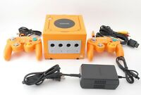 Nintendo GameCube Launch Edition Spice Orange Console 2 Controllers [Exc+++]