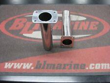 1X Pair. Flush Mount Straight Rod Holder - Stainless Steel