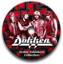 DOKKEN HEAVY METAL ROCK CHITARRA INTAVOLATURE CANTO BOOK CD SOFTWARE