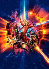 Guardians of the Galaxy II C A1 High Quality Canvas Art Print