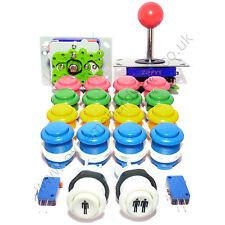 2 Player Arcade Kit De Control - 2 bola superior Joysticks + 18 Botones-Mame, Jamma