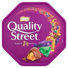 Nestle Quality Street All Favourite Chocolates Sharing 750g Tub Parties Weddings