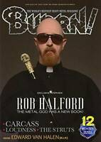 BURRN December 2020 Hard Rock Heavy Metal Magazine Japan Judas Priest Van Halen