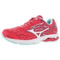 Mizuno Womens Wave Catalyst 2 Pink Mesh Running Shoes 6 Medium (B,M) BHFO 9113