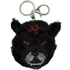 Kreepsville 666 Wolfhead Pentagramme Loup-Garou Gothique Punk Peluche Porte-Clé