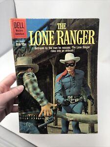 LONE RANGER #132 COMIC BOOK  DELL 1960