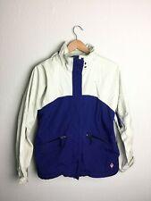 Womens BURTON Snowboarding Tri-Lite Convertible Outer Shell Jacket White Blue S