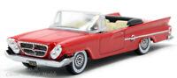 1961 Chrysler 300 Convertible Mardi Gras Red HO 1/87 Scale Oxford 87CC61001