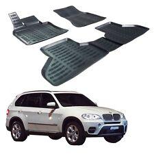 SCOUTT 3D PREMIUM TAPIS DE SOL EN CAOUTCHOUC pour BMW X5 E70 2006-2013  4 pcs