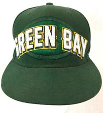 "Green Bay Packers New Era Fitted Size 7 1/8"" NFL 59Fifty 90s Hat/Cap 1990s VTG"