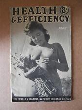 H&E naturist magazine Maggio May1945 - Health & Efficiency naturism nudism [P6]