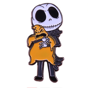 Jack Skellington Chibi Enamel Pin