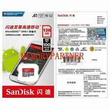128gb Sandisk ultra micro SDXC UHS-I scheda 100MB/S SD classe 10 sdsdqu-128g