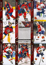 2015-16 UD Upper Deck Florida Panthers Regular + Canvas Team Set (19)