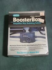 Sima Booster Box # SBB Video Signal Amplifier w/ Cables New