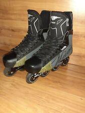 MENS ADULT Mission RSX Inline Skates Senior SZ 9E Hockey Roller Blades