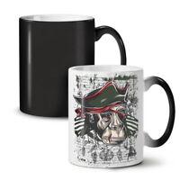 Monkey Pirate Cool NEW Colour Changing Tea Coffee Mug 11 oz | Wellcoda
