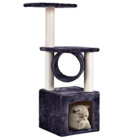 """Deluxe 36"""" Cat Tree Condo Furniture Play Toy Scratch Post Kitten Pet House"""