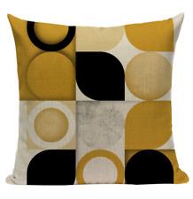Yellow Variety Pattern YG5 Cushion Pillow Cover European Design Stylish Modern
