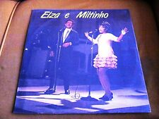 LP BRAZIL MPB ELZA SOARES MILTINHO  SAMBA BOSSA MINT