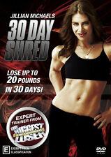Jillian Michaels: 30 Day Shred * NEW DVD * (Region 4 Australia)