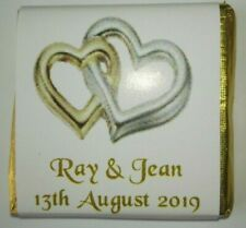 WD9 - Personalised Favours - Weddings, Anniversaries, Birthday - Ready Wrapped