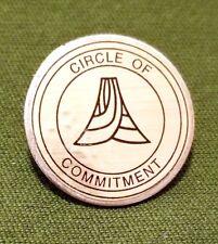 """Circle of Commitment"" Unique 1/2"" Lapel Pin"