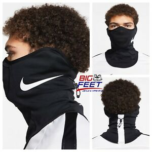 NIKE Strike Snood Face Mask / Black Training Running Scarf Gaiter Size Small/Med