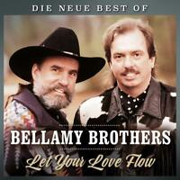 THE BELLAMY BROTHERS - LET YOUR LOVE FLOW-DIE NEW!E BEST OF   CD NEW!