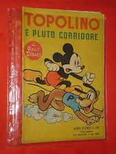 ALBO D'ORO-TOPOLINO n° 38-a-DEL 1951-uomo nuvola-DA LIRE 40-mondadori-disney