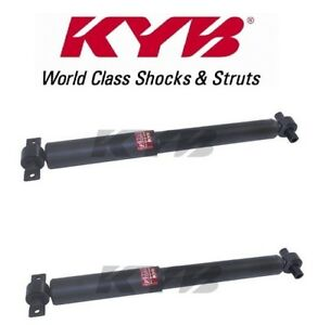 Pair Set of 2 Rear Shock Absorbers KYB Excel-G 349151 for Honda Pilot 2009-2014