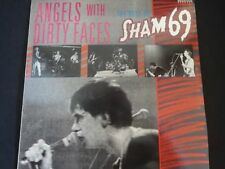 "Sham 69 ""Angels With Dirty Faces"" Original LP. 1st pressing (RRLP 104) RARE !"