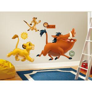 Roommates - König der Löwen Simba, Pumbaa, Timon - Wandtattoo Wandsticker Wandil