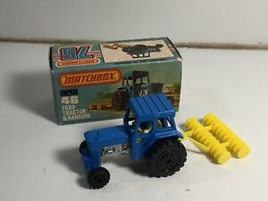 Matchbox Superfast No 46 Ford Tractor Very Near Mint Within Its Original Box